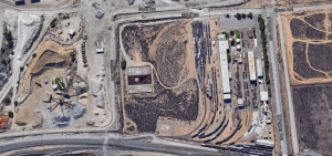 GATX Rail Road, Colton, CA. Note the short yard lead.