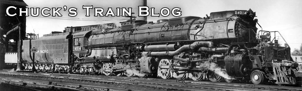 Chuck's Train Blog