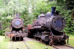 Eagle Lake and West Branch Railroad Locomotives.
